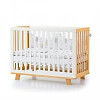 Детская кроватка Верес Manhattan бело-буковый 1.1.1.32.15