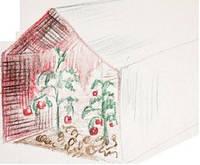 Агроволокно ТМ «Агротекс» Двойная защита. Красно-белое армированное агроволокно 60г/м (3*100 м)