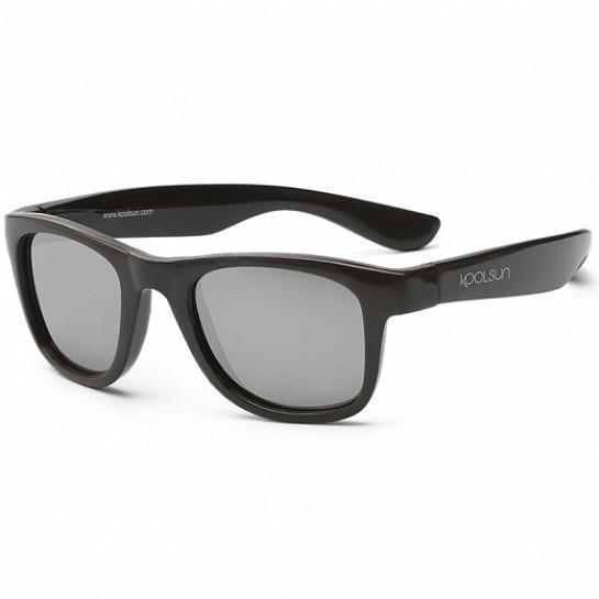 Детские солнцезащитные очки Koolsun черные серии Wave (Размер: 3+)