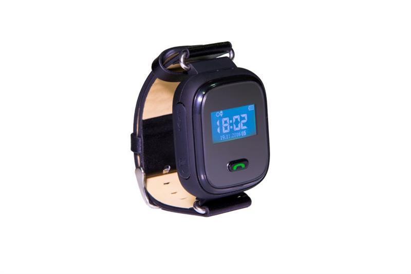 Детские телефон-часы с GPS трекером GOGPS ME K10 Черные