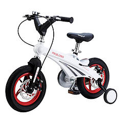 Детский велосипед Miqilong GN Белый 12` MQL-GN12-White