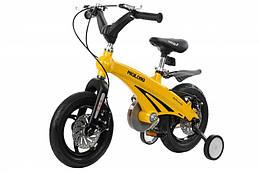 Детский велосипед Miqilong GN Желтый 12` MQL-GN12-Yellow