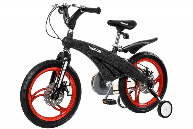 Детский велосипед Miqilong GN Черный 16` MQL-GN16-Black