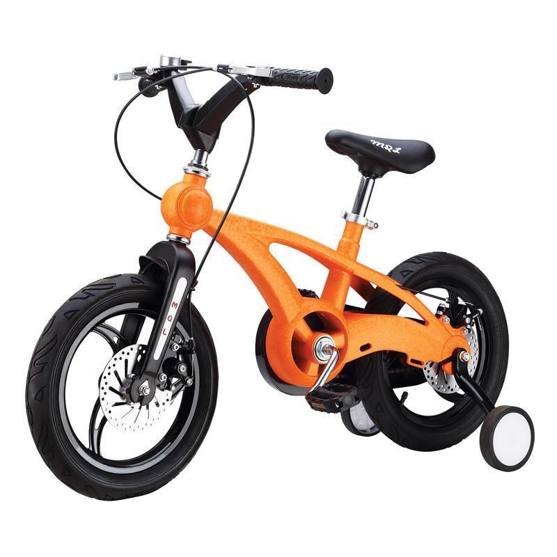 Детский велосипед Miqilong YD Оранжевый 14` MQL-YD14-orange