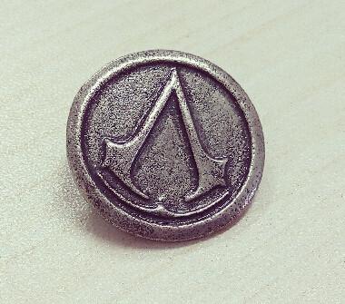Значок Ассасина Assassins creed  АС 40.22