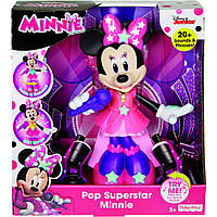 Интерактивная танцующая Мини Маус, свет, музыка, Fisher-Price Pop Superstar Minnie, Оригинал из США, фото 1