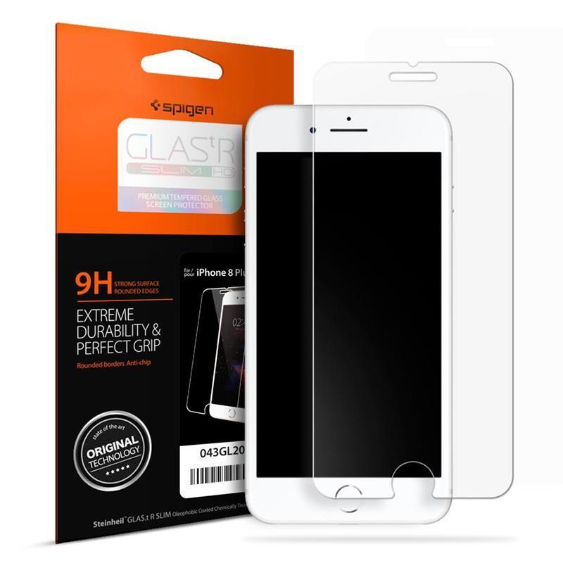"Защитное стекло Spigen для iPhone 8 Plus/7 Plus Glass ""Glas.tR SLIM HD"" (1Pack)"