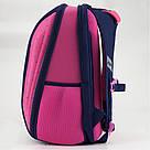 Рюкзак школьный каркасный Kite Education Butterfly K18-732M-2, фото 5