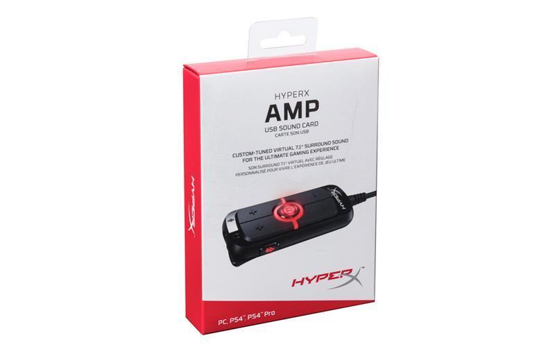 Звуковая плата HyperX Amp USB Virtual 7.1 PC/PS4