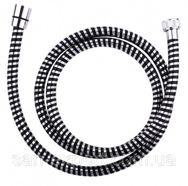 Шланг душ. PVC-ESPIROFLEX 1,50m black E15099C1