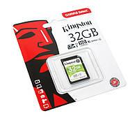 Карта памяти SDHC, 32Gb, Class10 UHS-I, Kingston Canvas Select  (SDS/32GB)