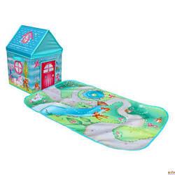 """Игровой дом-коробка Pop-it-Up """"Заколдованный Лес"""" 30x30x40см с игровым ковриком 60x90см"""