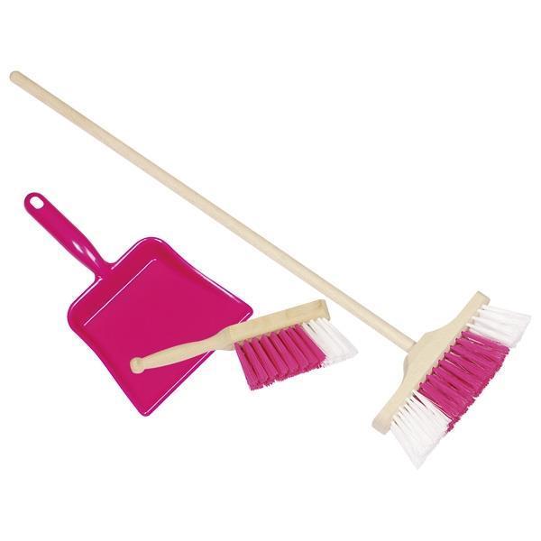 Игровой набор goki Уборка розовый 15430G