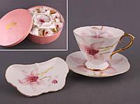 """Чайный набор на 6 персон, 18 пр. """"Орхидея"""""""