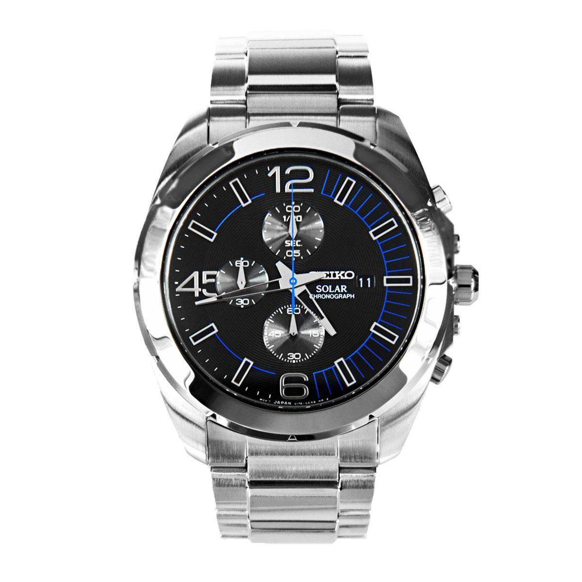 Часы Seiko SSC213P1 хронограф SOLAR V176