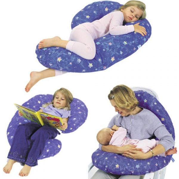 Подушки для беременных и кормления, детские подушки и ограничители