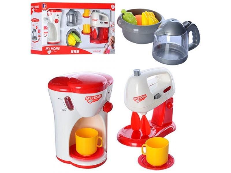 Игровой набор Same Toy My Home Little Chef Dream Кухонный миксер и кофеварка 3202Ut