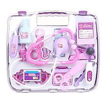 Игровой набор Same Toy Доктор в кейсе розовый 7735BUt