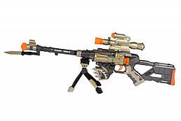 Іграшкова зброя Same Toy Snowleopard Автомат DF-18218BUt