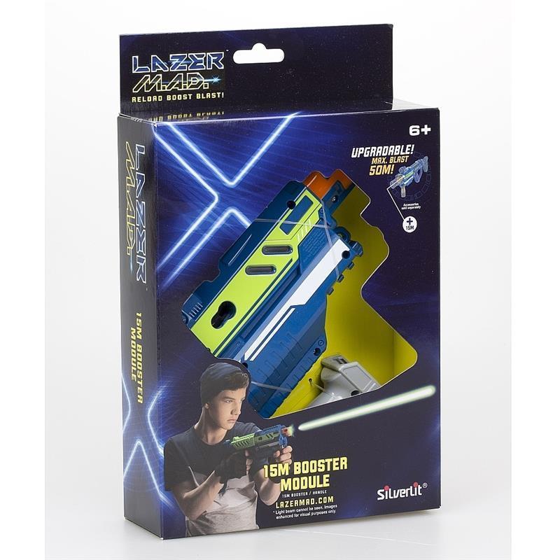 Игрушечное оружие Silverlit Lazer M.A.D. Набор Супер бластер (модуль, рукоятка) LM-86850