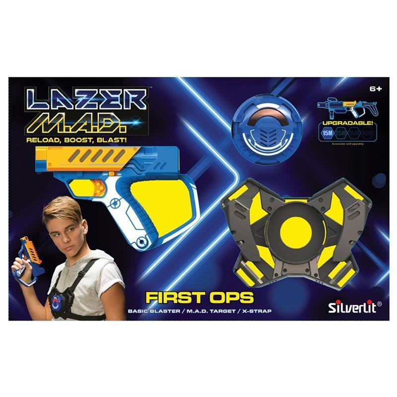 Іграшкова зброя Silverlit Lazer M. A. D. Стартовий набір LM-86844