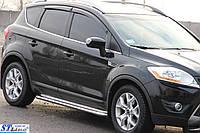 "Подножки ""Premium"" Ford Kuga (08-13)"
