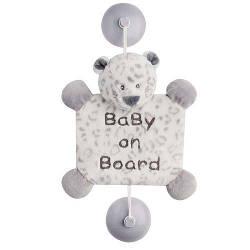 Іграшка Nattou Дитина на борту на присосках леопард Лея 963442