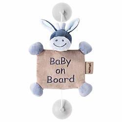 Іграшка Nattou Дитина на борту на присосках ослик Алекс 321341
