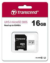 Карта памяти Transcend 64GB SDHC C10 UHS-II U3 R285/W180MB/s 4K