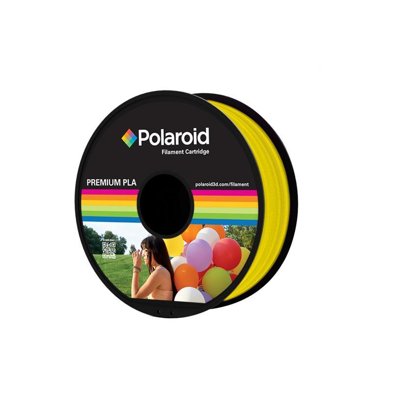 Катушка с нитью 1.75мм/1кг PLA Polaroid для 3D принтера, желтый