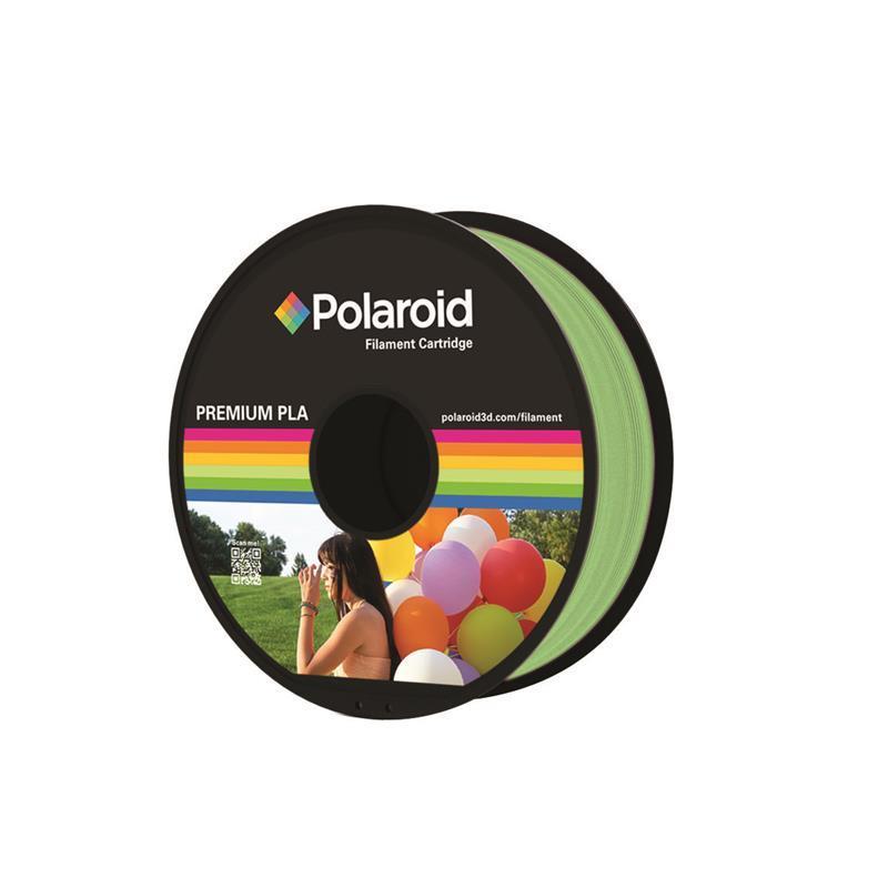 Катушка с нитью 1.75мм/1кг PLA Polaroid для 3D принтера, светло-зеленый