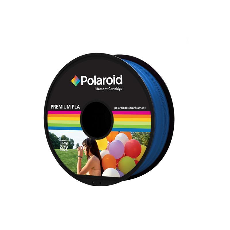 Катушка с нитью 1.75мм/1кг PLA Polaroid для 3D принтера, синий