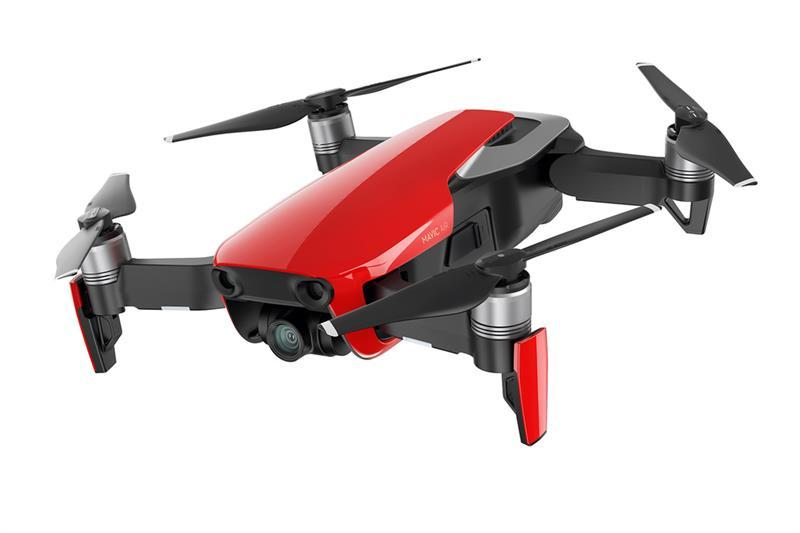 Квадрокоптер DJI Mavic Air (EU) Flame Red