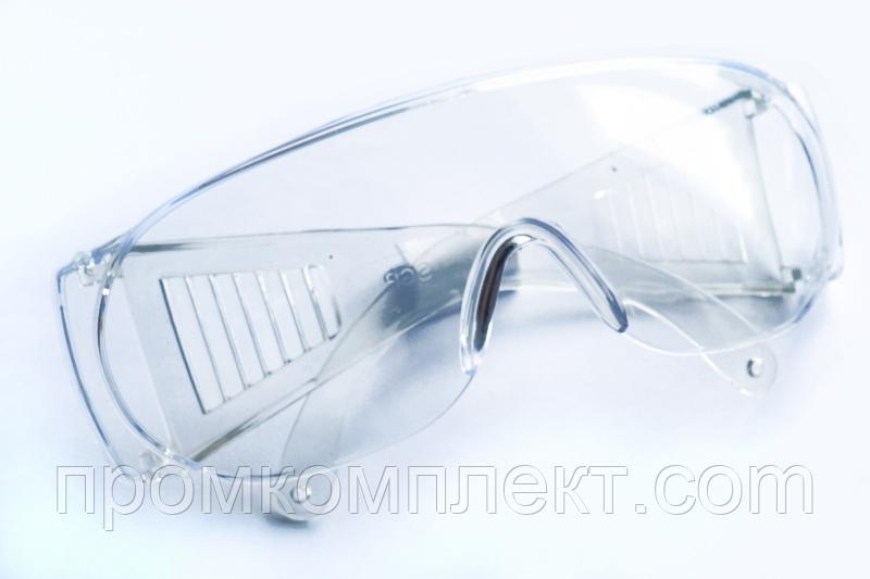 Очки защитные стандарт прозрачные