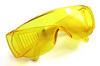 Очки защитные стандарт желтые