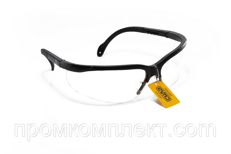 Очки защитные ОПТИК, прозрачные