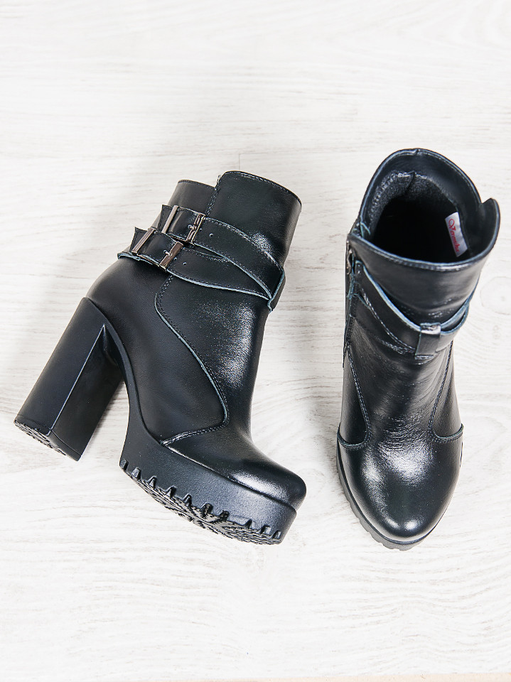 867c4e720 Ботильоны кожаные пряжка - стильная и комфортная женская обувь , цена 1 345  грн., купить г. Днепр — Prom.ua (ID#629335867)