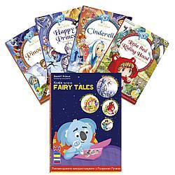 Книга интерактивная Smart Koala Сказки Золушка, Красная Шапочка, Счастливый Принц, Пиноккио