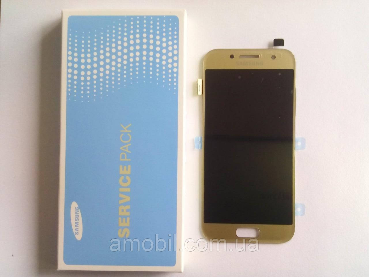 Дисплей Samsung AMOLED Galaxy A3 A320 2017 Super GH97-19732A Gold orig