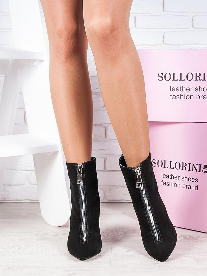 ca12017f0 Ботильоны из натуральной замши Ванесса - стильная комфортная качественная женская  обувь - «Оригинальные подарки для