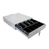 Денежный ящик металлический UNIQ-CB35.02 для термопринтеров и POS-терминалов
