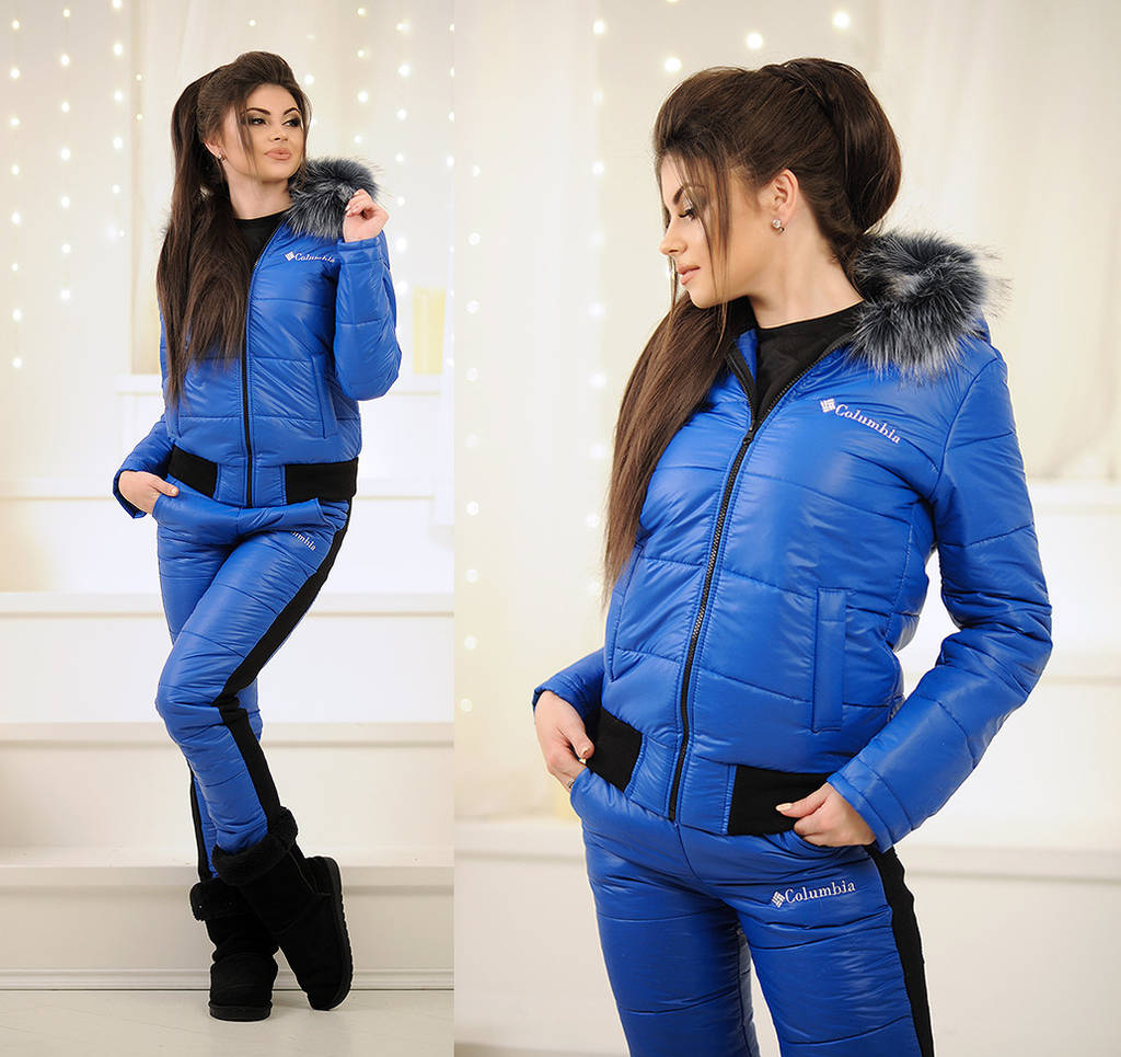 6fd6495343e8 Зимний женский спортивный костюм синтепон 2068