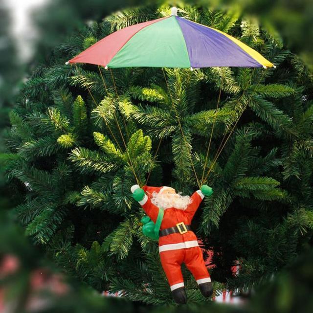Дед Мороз с зонтиком, 35см.