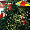 Дед Мороз с зонтиком, 35см., фото 3
