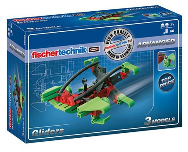 Конструктор fisсhertechnik ADVANCED Глайдер FT-540581