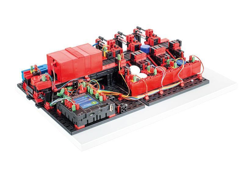 Конструктор fisсhertechnik Trainingsmodelle Сортировочная линия FT-536628