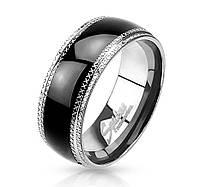 Мужское кольцо из стали Spikes R-H0943 - р. 18, 19, 20, 20.5, 21.5, 22