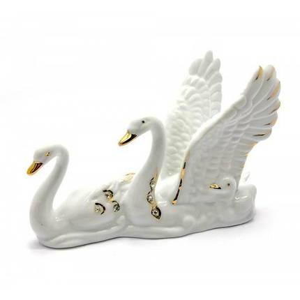 Лебеди фарфор (12,5х9х5 см) ( 25352), фото 2