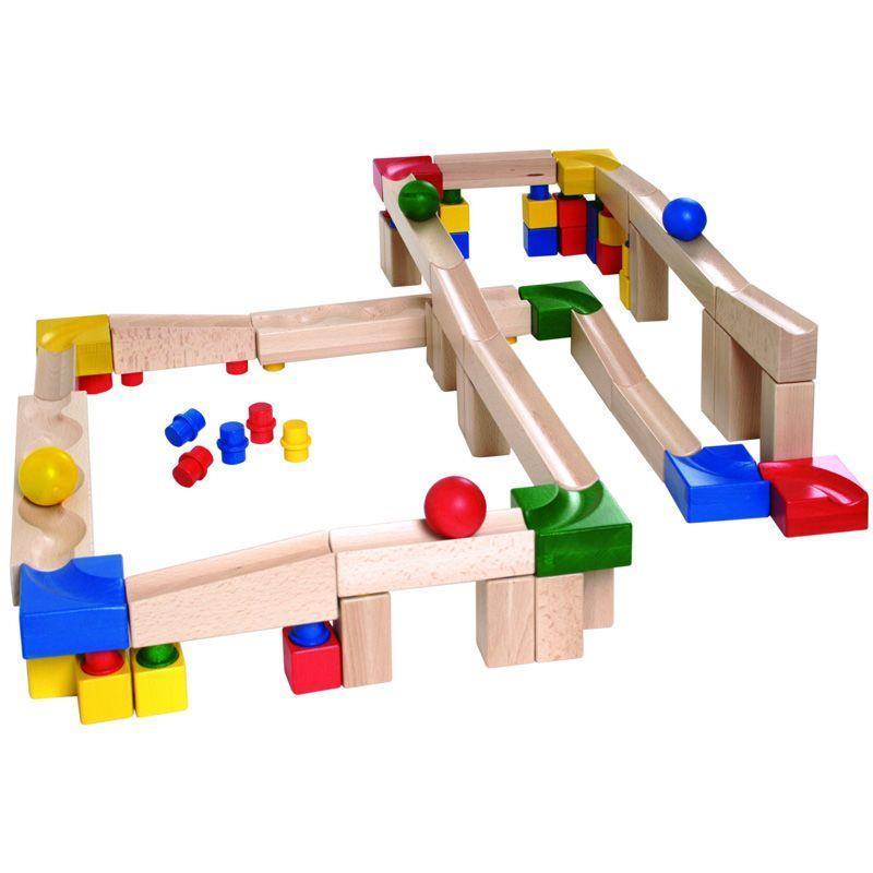 Конструктор nic cubio деревянный Шариковая дорога Расширенный набор NIC2182