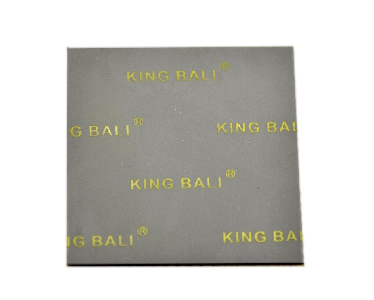 Термопрокладка KingBali DG 1.0 мм 60х60 серая 4 Вт/(м*К)термоинтерфейс (TPr-KB4DG 1.0-60)